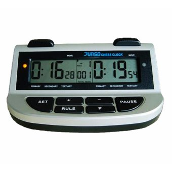 JUNSD 211A Chess Clock (Silver) Price Philippines