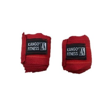 Kango Cotton Hand Wraps (Red)
