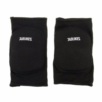 Kids Children Boys Girls Stretchy Cotton Knee Pads Sports Padded Knee Sleeves Dancing Protective Brace Support Strap Wrap Band for Basketball, Volleyball, Football, Skating Sports 8-15 Age,Black+letters - intl - 2