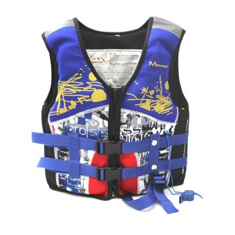 Kids Life jackets Child Swimming vest Drift vest - intl - 3