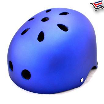 Kids/Adult Bmx Nutshell Bike Cycling Protective Helmet (Blue) Buy 1Take 1 - 5