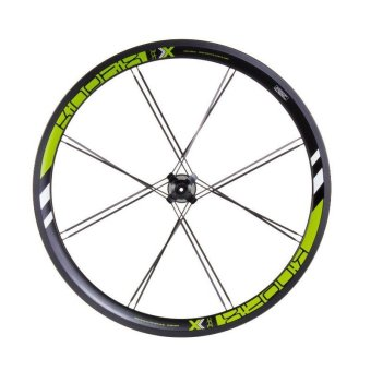 Kinetix Pro X 20'' Front Wheel Set (Black/Green)