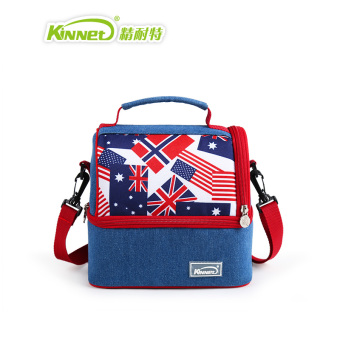 Kinnet multi-functional double layer insulated bag