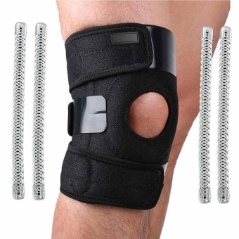 Knee Patella Support Brace Sleeve Wrap Cap Stabilizer Sports 1 Pcs Adjustable - intl