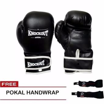 Knockout Boxing Gloves 12oz with Pokal Handwrap Price Philippines