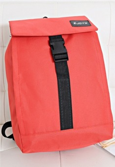 Korean style Cute double-Shoulder High capacity fashion girls canvas schoolbag backpacks