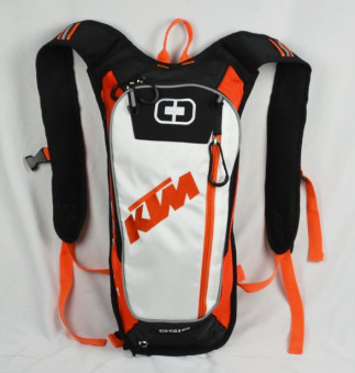 KTM hydration water backpack motocross motorcycle backpack camping hiking water shoulder bag - Intl