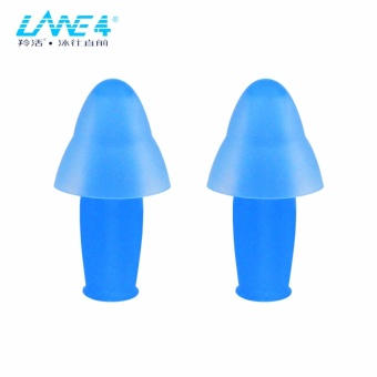 LANE4 Accessories - SPORTY EAR PLUGS with Storage Case, Chlorine-proof Waterproof, Soft Comfortable lightweight Reusable, Unisex for Adults Men Women Children #E0160