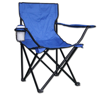 Large camping armchair Portable folding chairs fishing Beach chairs BLUE - Intl