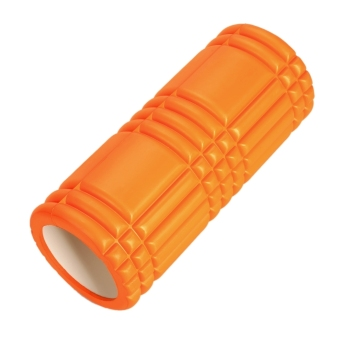 LCD Grid Revolutionary Foam Roller Exercise Workout Massage 12inch (Black) (Intl)