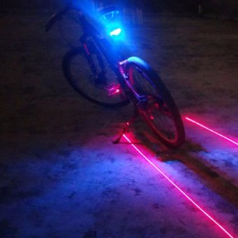 LED Bicycle Bike Rear Tail Light Taillight Laser Beam Price Philippines
