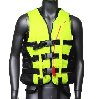 Life Jacket Vest PFD Fully Enclose Foam Adult Boating Size L + Whistle Price Philippines