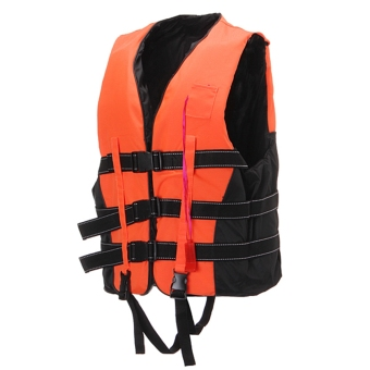 Life Jacket Vest PFD Fully Enclose Foam Adult Boating Size XXL +Whistle Price Philippines
