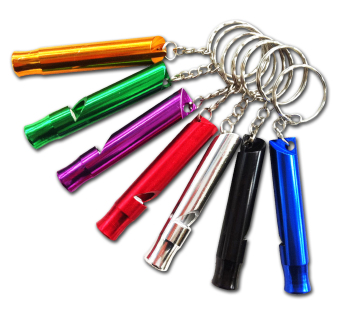 Life Whistle Emergency Whistle Set of 6 (Multicolor)