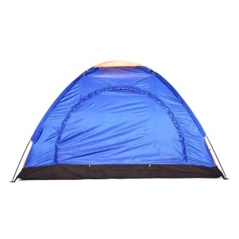 Lightweight 3 Person Camping Backpacking Tent With CarryBag(multicolors)