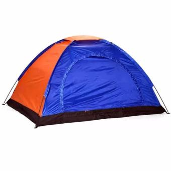 Lightweight 4 Person Camping Backpacking Tent With carry Bag (Multicolor)
