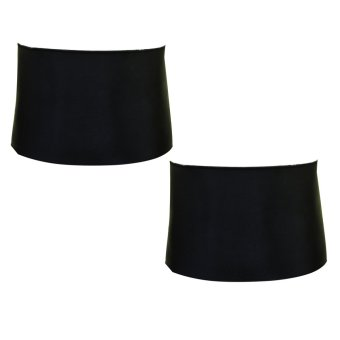 Lose Belly Fat Slimming Belt Set of 2 Black