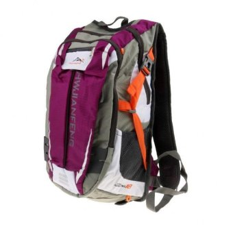 MagiDeal Hydration Pack Purple Bladder Bag Cycling Bicycle BikeHiking Backpack - intl