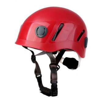 MagiDeal Professional Climbing Hard Hat Helmet Caving Rescue Head Protector for Kids - intl