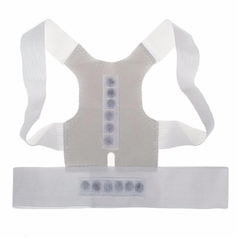 Magnetic Posture Humpback Support Corrector Belt Back Brace Strap(XL) Price Philippines