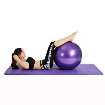 Massage Gym Yoga Ball with free pump(violet)