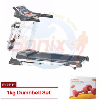 Matrix MT902 Foldable Motorized Treadmill with 1kg Cement Dumbell