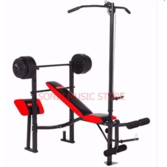 MATRIX MX-168 WEIGHT BENCH PRESS 7 IN 1 (PLATES NOT INCLUDED)