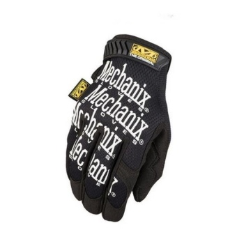 Mechanix Gym Tactical Fitness Fingerless Gloves Outdoor SportPaintball Glove Men Black White - intl