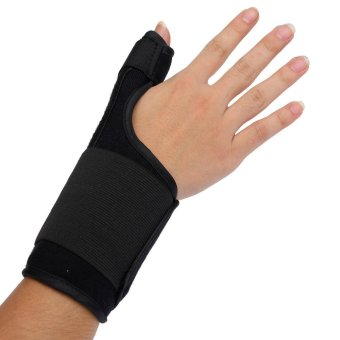 Medical Thumb Spica Splint Brace Wrist Support Stabiliser for Sprain Arthritis - intl