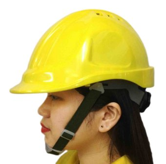 Meisons Safety Helmet Hard Hat ABS With Airflow (Yellow)