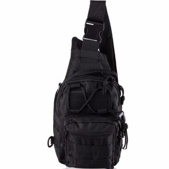 Men Tactical Outdoor Sport Crossbody Sling Shoulder ChestWaterproof Bag Backpack