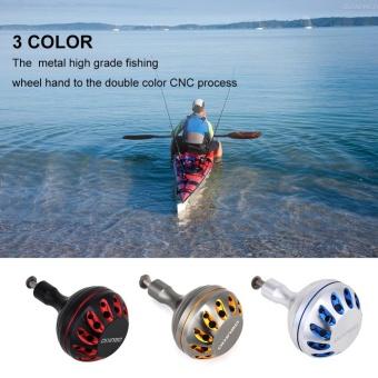 Metal Lightweight Knobs Fishing Reel Handle for Jigging Reel TackleTools (Gold) - intl - 3