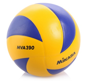 Mikasa MVA390 Volleyball (Yellow)(…)
