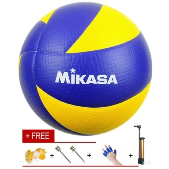 Mikasa Volleyball MVA 200 With Carrying Net and Inflator - intl