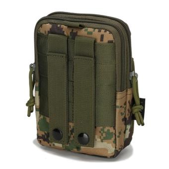 Military fans tactical pockets bag outdoor sports tactical belt pockets pocket wear purse 5.6-inch mobile phone bag Oxford Bag - intl - 4
