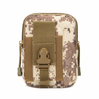 Military fans tactical pockets bag outdoor sports tactical belt pockets pocket wear purse 5.6-inch mobile phone bag Oxford Bag - intl