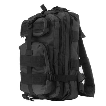 Military Tactical Backpack Small Rucksacks Hiking Bag OutdoorTrekking Camping Tactical Molle Pack Men Tactical Combat Travel Bag20-35L Black - intl
