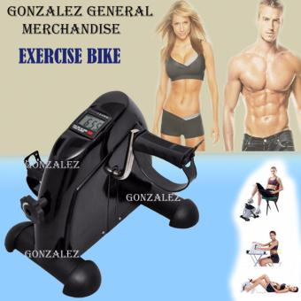 Mini Bike Pedal Exerciser w/ LCD Display (Black)