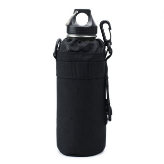 MOLLE Outdoor Water Bottle Pouch Bag Carrier(black)