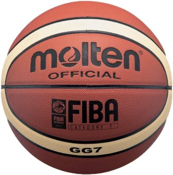 Molten GG7 Official Basketball (Orange)