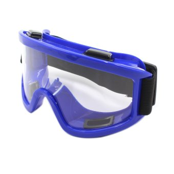 Motor Craze Sport Motocross Motorcycle Goggles Safety Glasse (Blue)