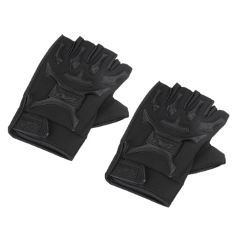 Motorcycle Bike Military Tactical Airsoft Riding Hunting Full Finger Gloves - intl