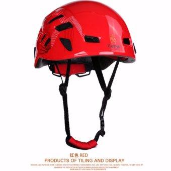 Mountain Rock Climbing Helmet Climbing Water Sports/IceClimbing/Mountain-climbing Helmet PC+EPS For Outdoor Sports - intl