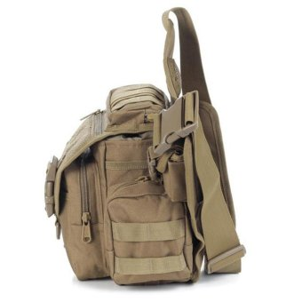 Multi-functional Molle Tactical Military Messenger Shoulder SLR Camera Bag Pack for Hiking Camping Trekking Cycling - intl - 5