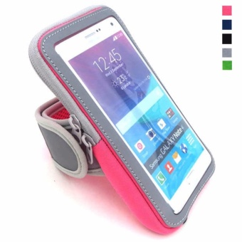 Multifunctional Outdoor Sports Armband Casual Arm Package Bag Cell Phone Bag Key Holder For iphone7Plus 6Plus 6sPlus Samsung Galaxy Note 5 4 3 Note Edge S5 S6 S7 S8 Edge Plus Green - intl