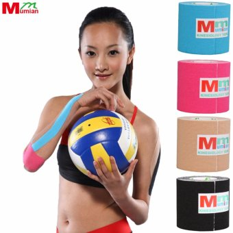 Mumian 5cm*3M Kinesio Tex Tape Athletic Tapes Kinesiology SportTaping Strapping Knee Muscle Kinesiotape MK6 - intl Price Philippines