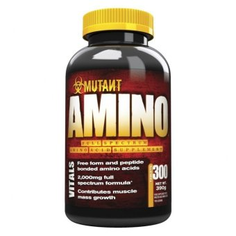Mutant Amino 3000mg Tablets, Bottle of 300