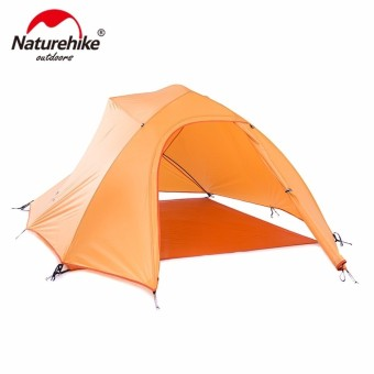 Naturehike CloudUp Series 20D Silicone Ultralight Tent For 3 Person NH15T003-T - intl