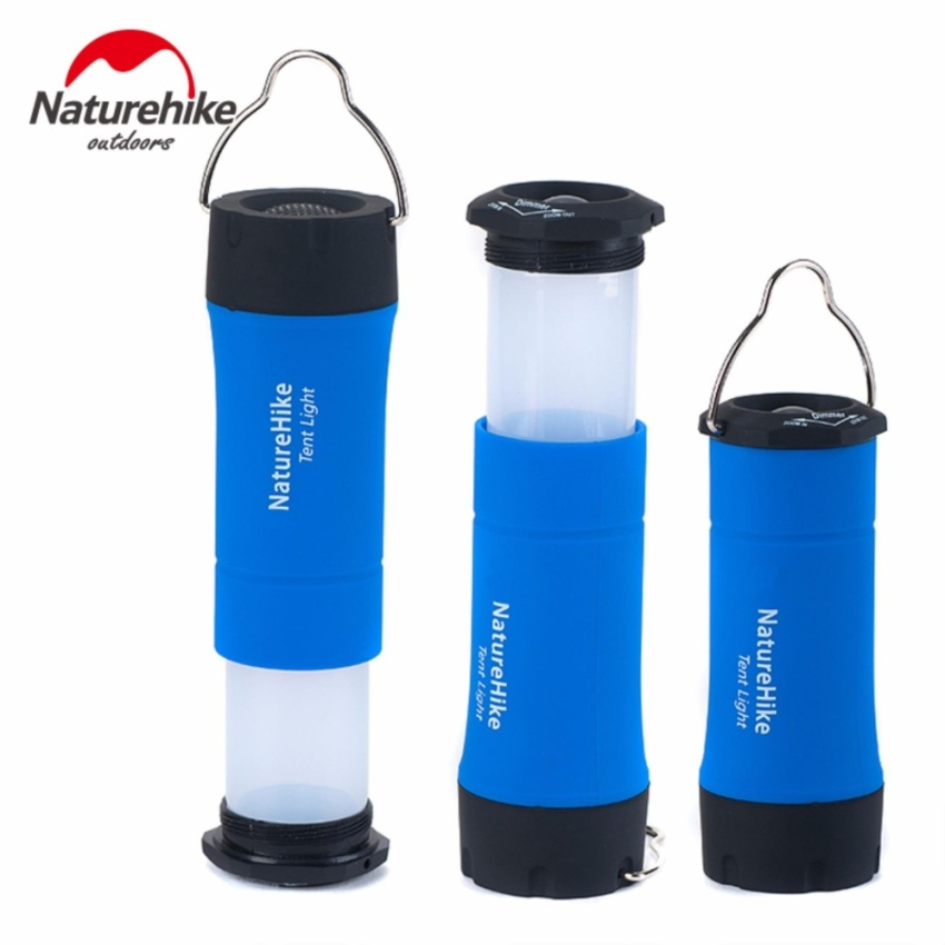 NatureHike Portable Mini CREE R2 LED Zoomable Flashing Camping Lantern Outdoor LED Tent Light Lamp With 3 Working Modes - intl
