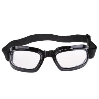 New Folding Pocket Motorcycle Goggles Sports Windproof GlassesEyewear